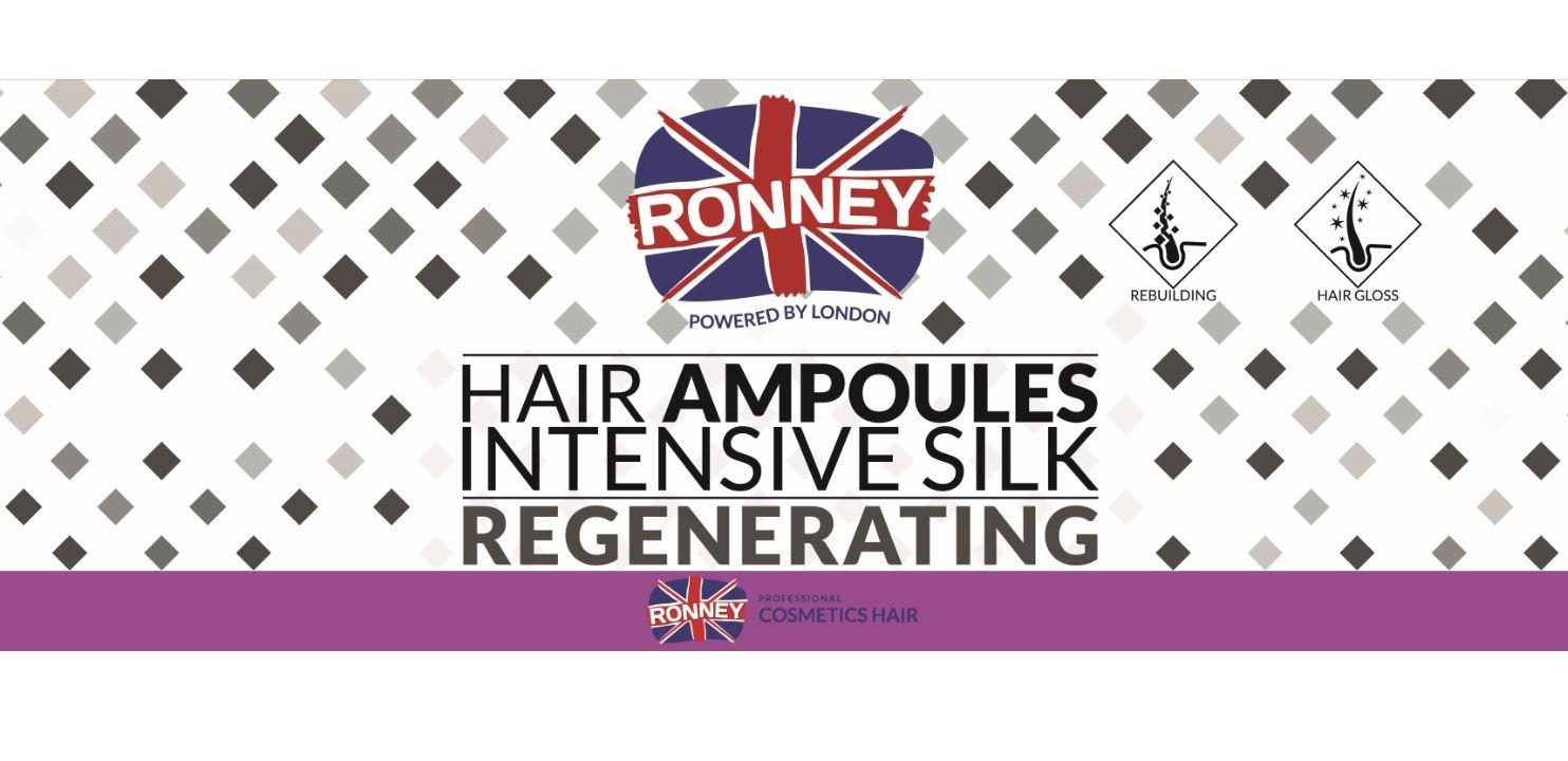 Ronney Intensive Silk Regenerating ampułki 10ml