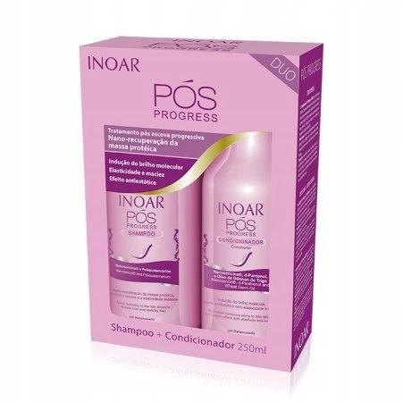 INOAR POST zestaw po prostowaniu szampon + odżywka