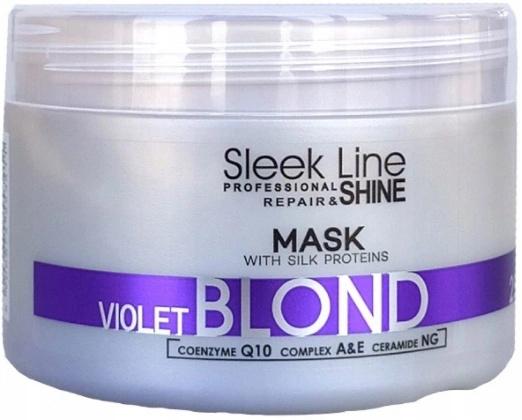Stapiz Maska Sleek Line Blond Violet 250ml