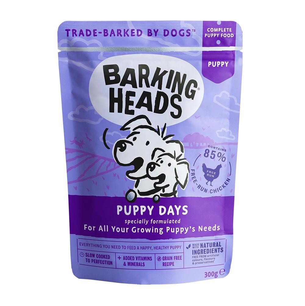 BARKING HEADS PUPPY DAYS saszetka dla szczeniaków Kurczak 300g