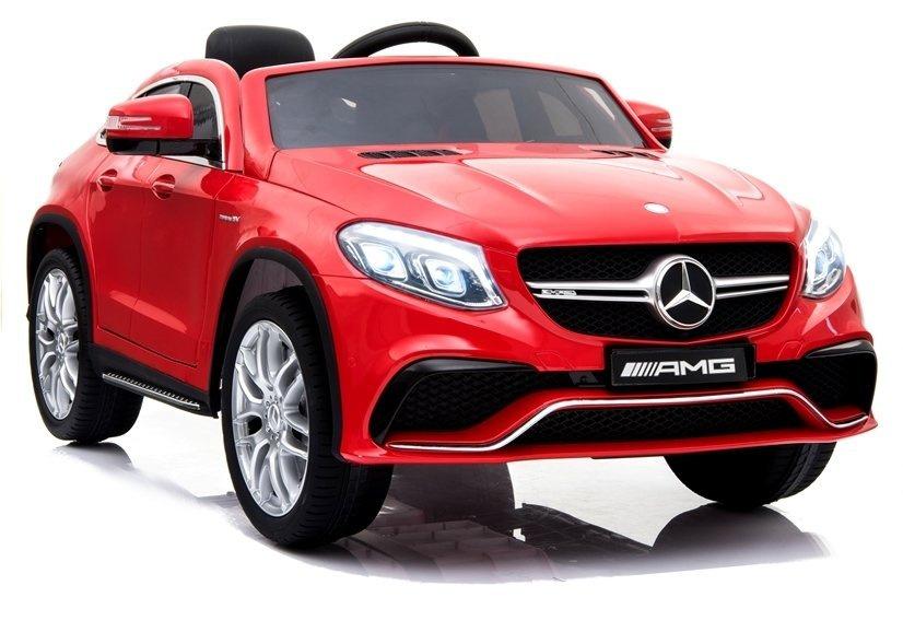 Auto na Akumulator Mercedes GLE63 Coupe Czerwony