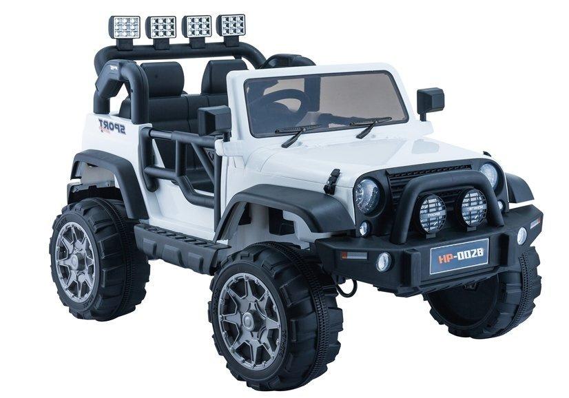 Auto na Akumulator Jeep HP012 Białe