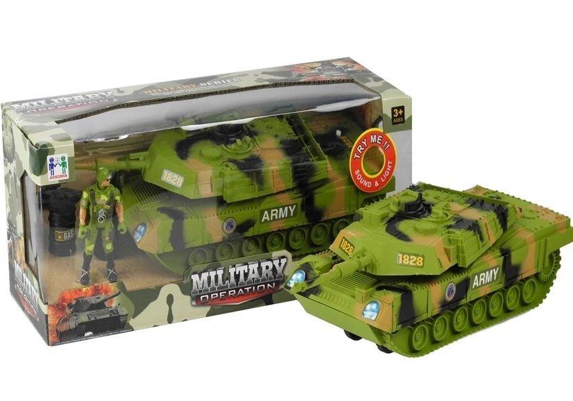 Czołg z Akcesoriami na baterie Wojsko