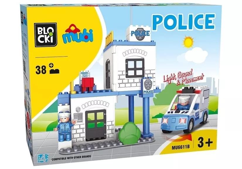 Klocki Blocki Mubi Posterunek Policji MU6611B