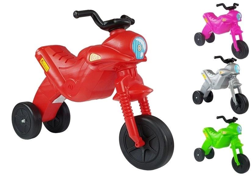 Motorek Biegowy Trójkołowy Enduro Jeździk Zielony 5045