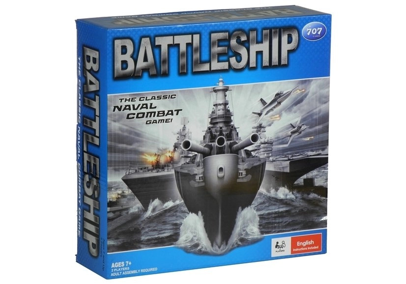 Strategiczna Gra w Statki Bitwa Morska 2 Walizki