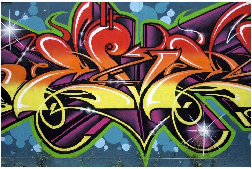 FOTOTAPETA 3D GRAFFITI MUR FOTOTAPETY 368x254 24h