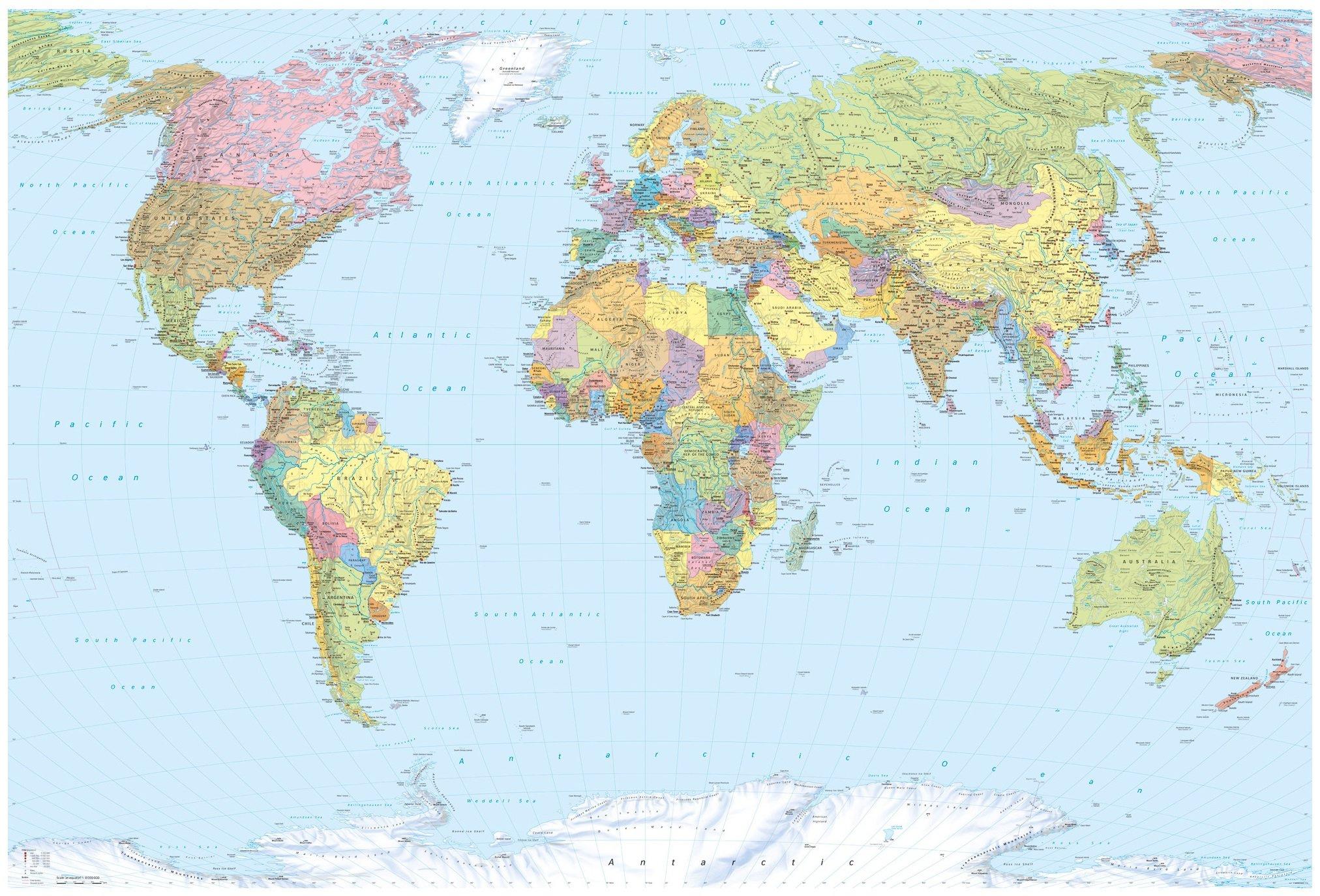 Fototapeta mapa świata mapy fototapety