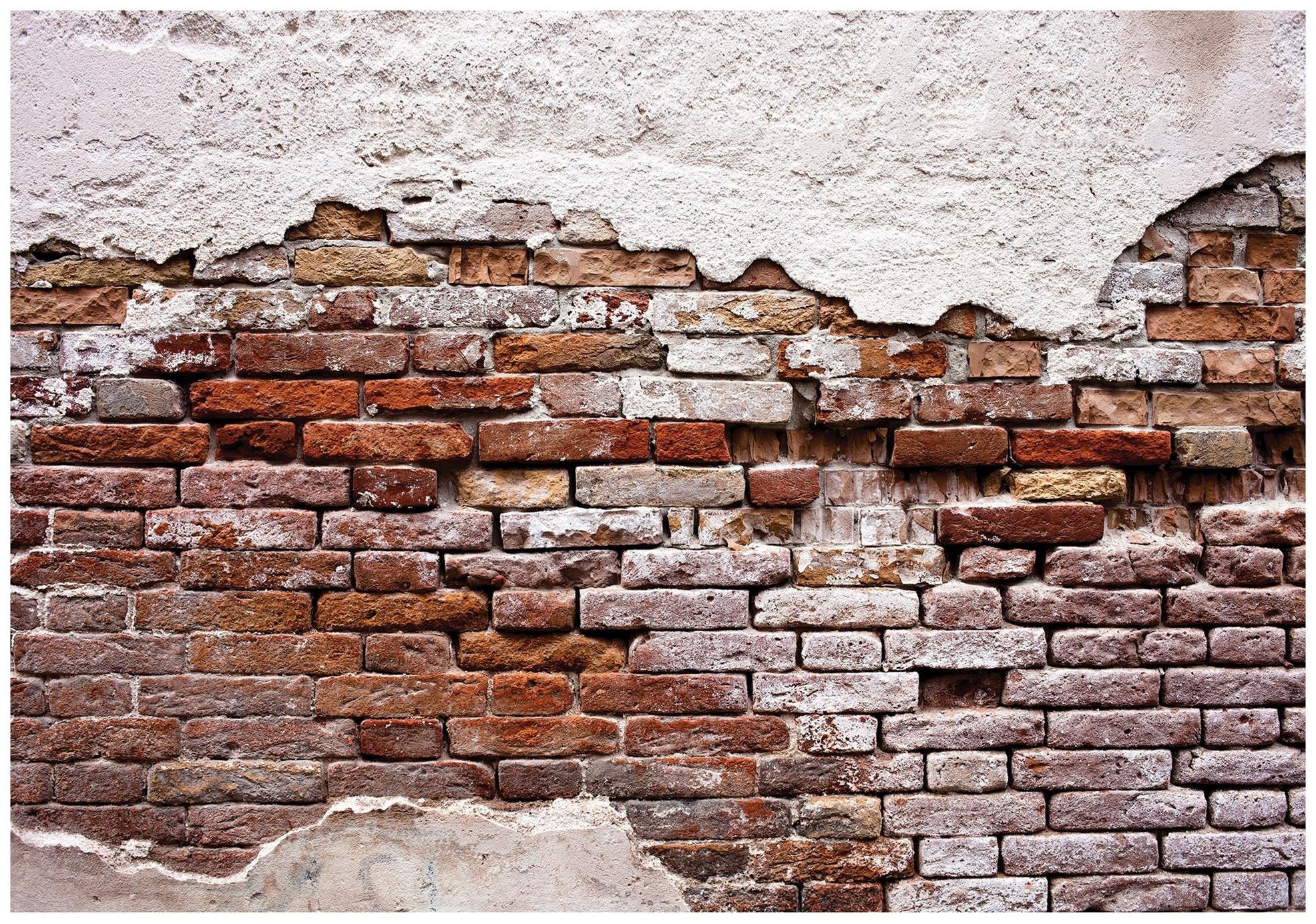 Fototapeta 3D cegła kamień fototapety mur