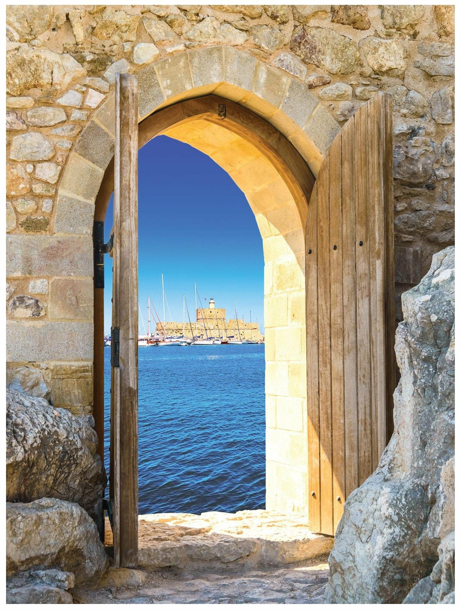 Fototapeta 3d widok za okna fototapety