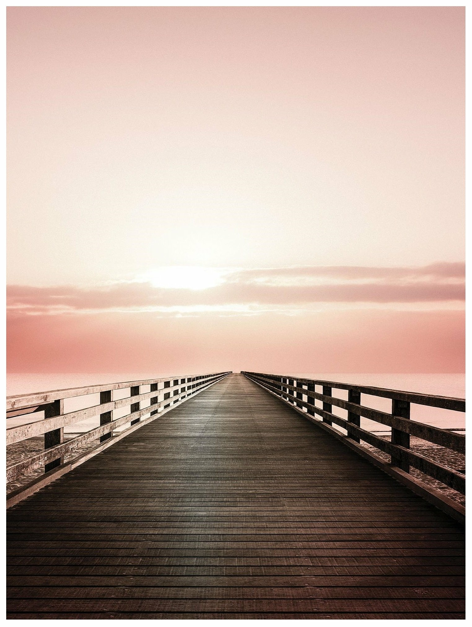 Fototapeta pomost morze niebo fototapety