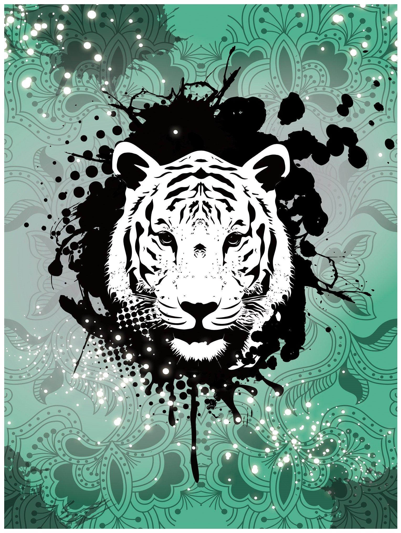 Fototapeta zwierzęta tygrys lew fototapety