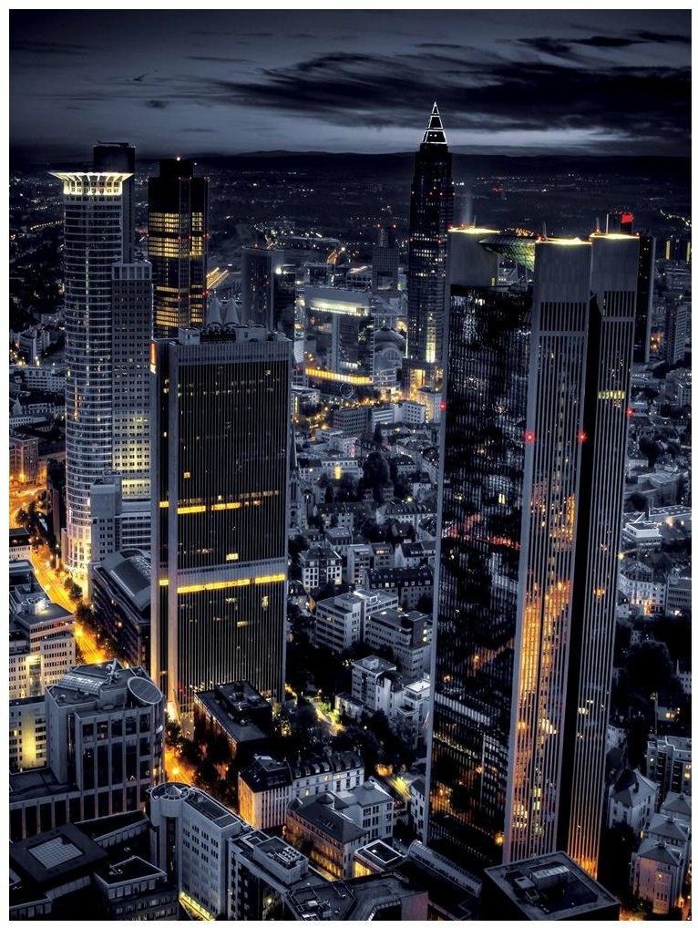 Fototapeta miasto nocą niebo fototapety