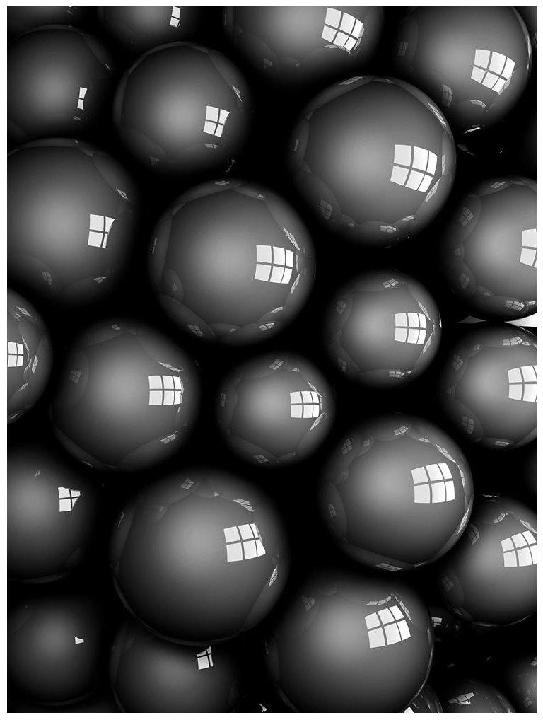 Fototapeta 3D kule abstrakcja fototapety