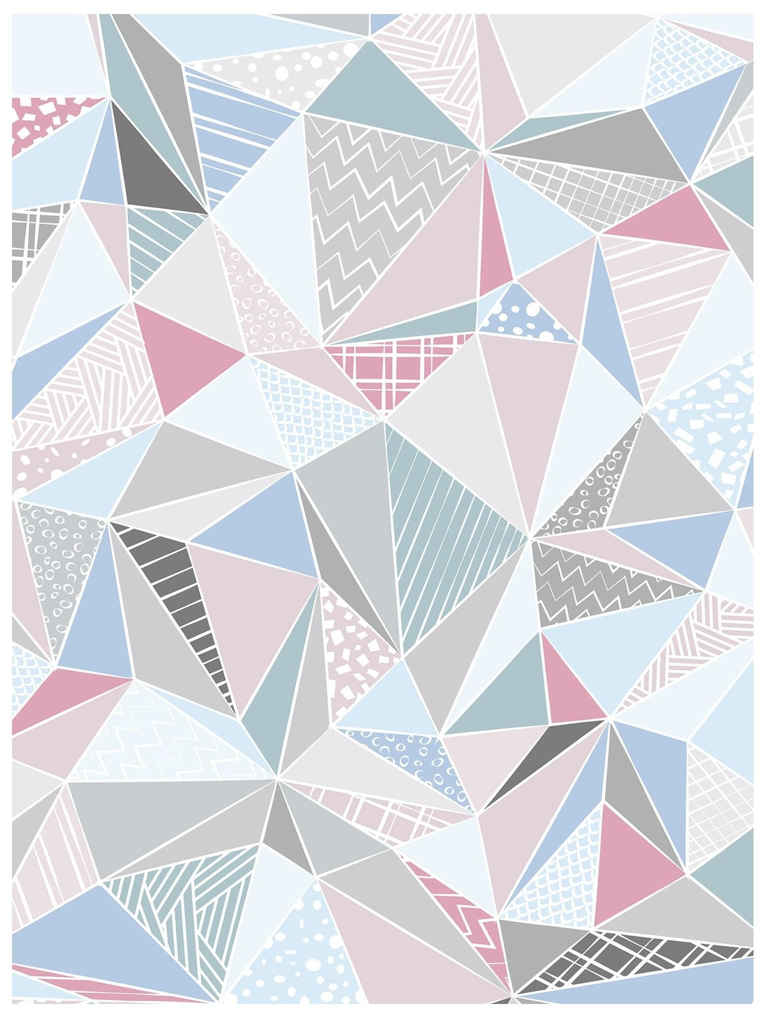 Fototapeta 3D trójkąty bryły fototapety