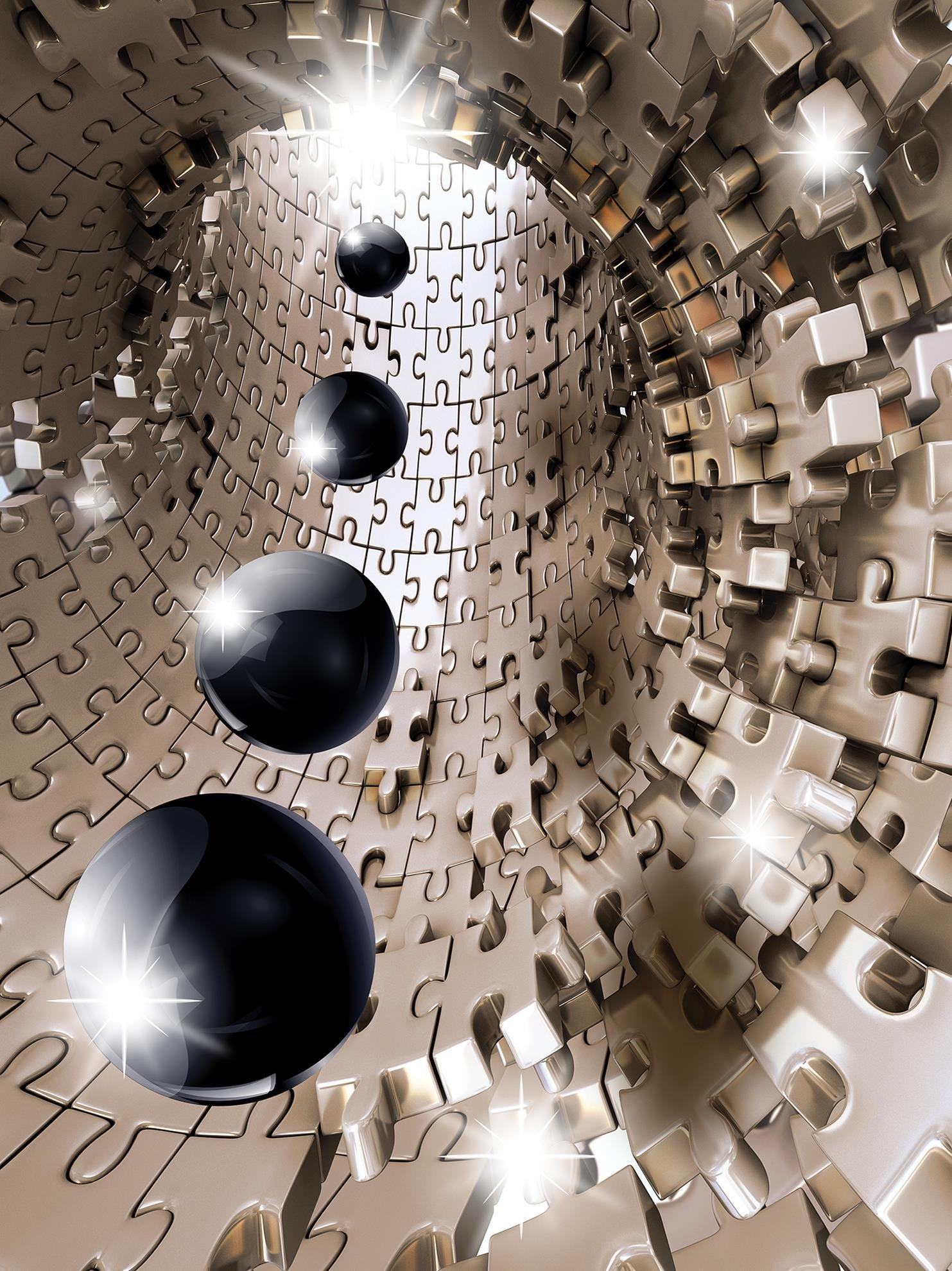 Fototapeta 3D abstrakcja kule fototapety
