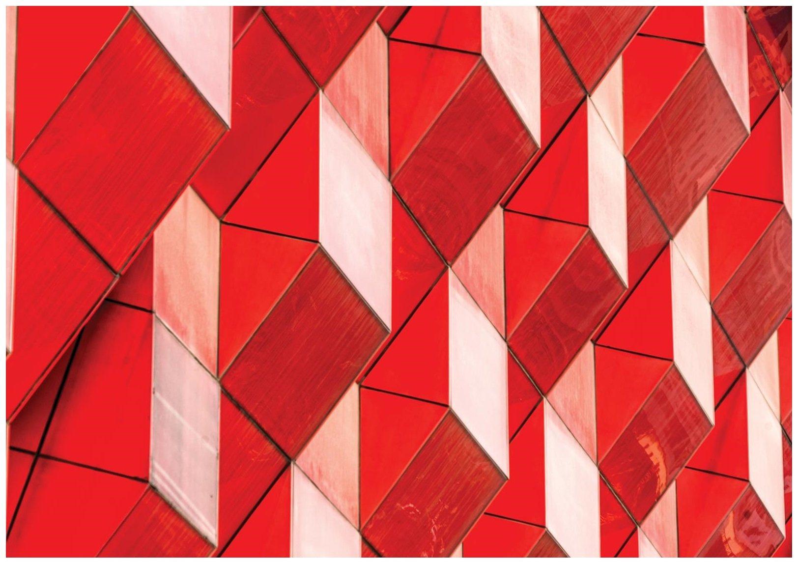 Fototapeta 3D geometria bryły ściana
