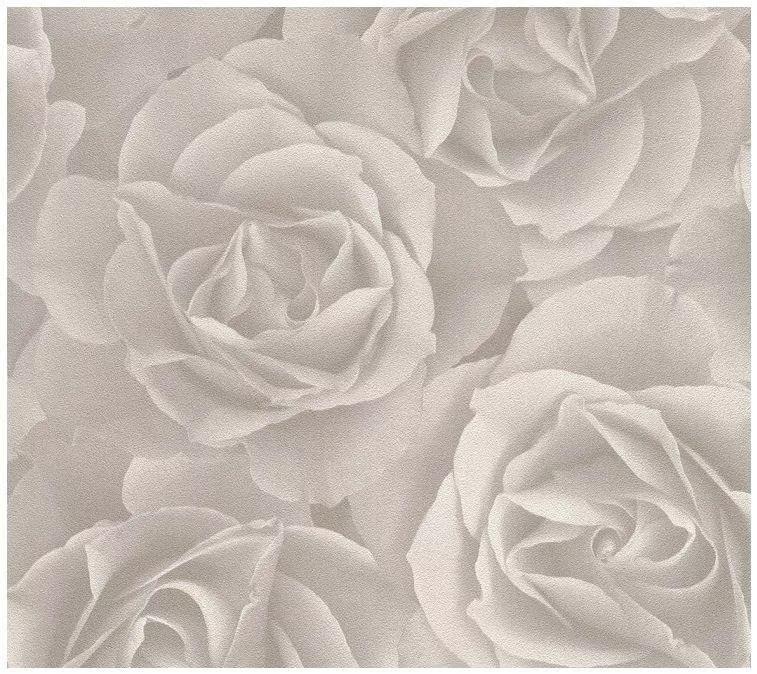 Tapeta 3D winylowa w kwiaty róże tapety na ścianę