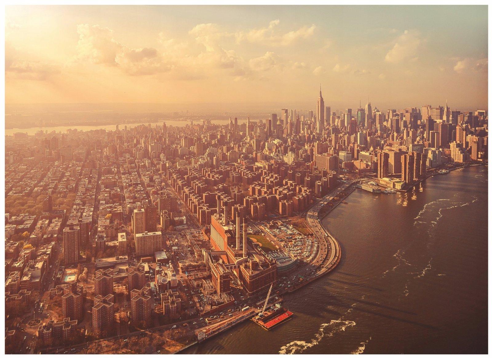 Fototapeta miasto nowy jork niebo 254x184