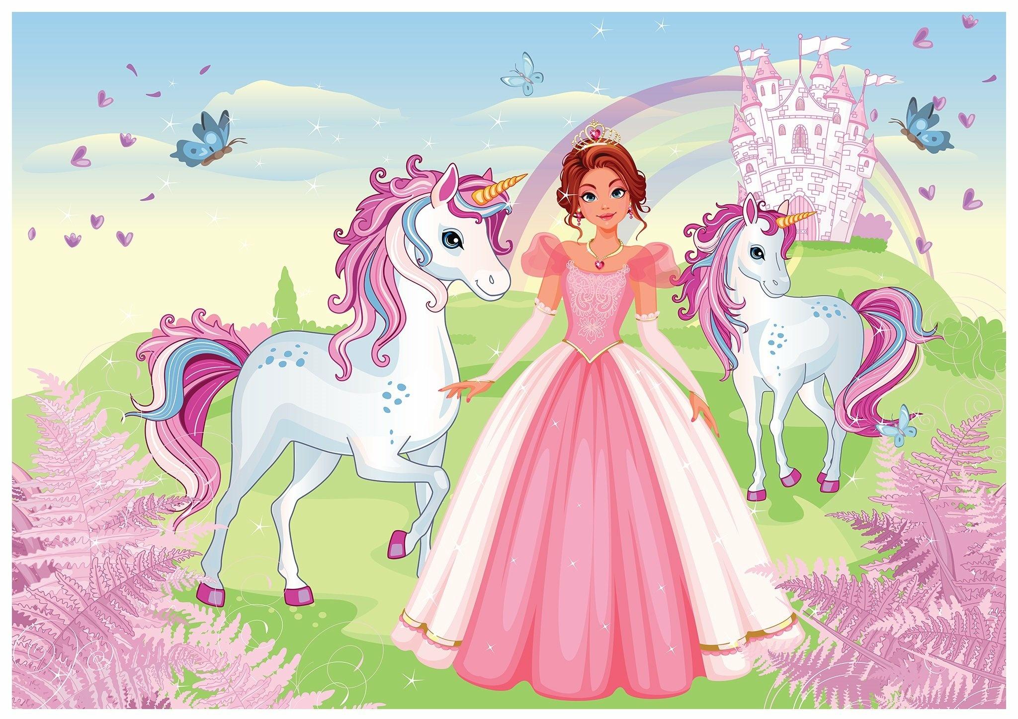 Fototapeta dla dzieci księżniczki