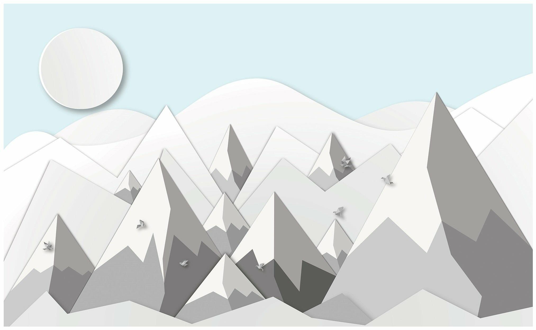 Fototapeta dla dzieci skandynawska góry