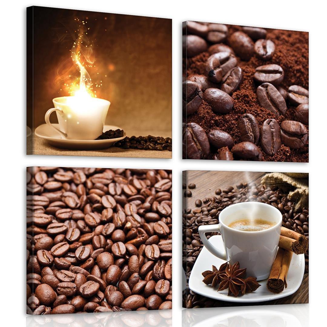 Obraz na ścianę obrazy na płótnie kawa 50x50