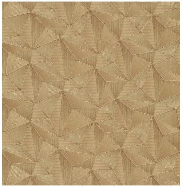 Tapeta 3D na ścianę trójkąty wzór geometryczny