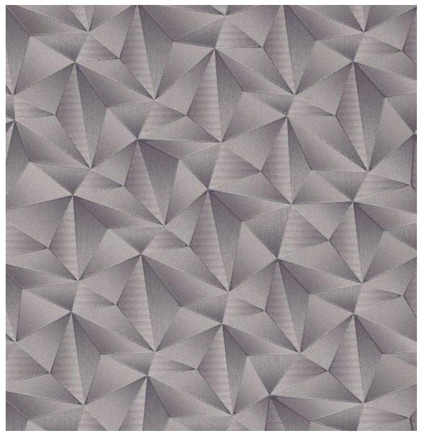 Tapeta 3D na ścianę geometryczna trójkąty bryły