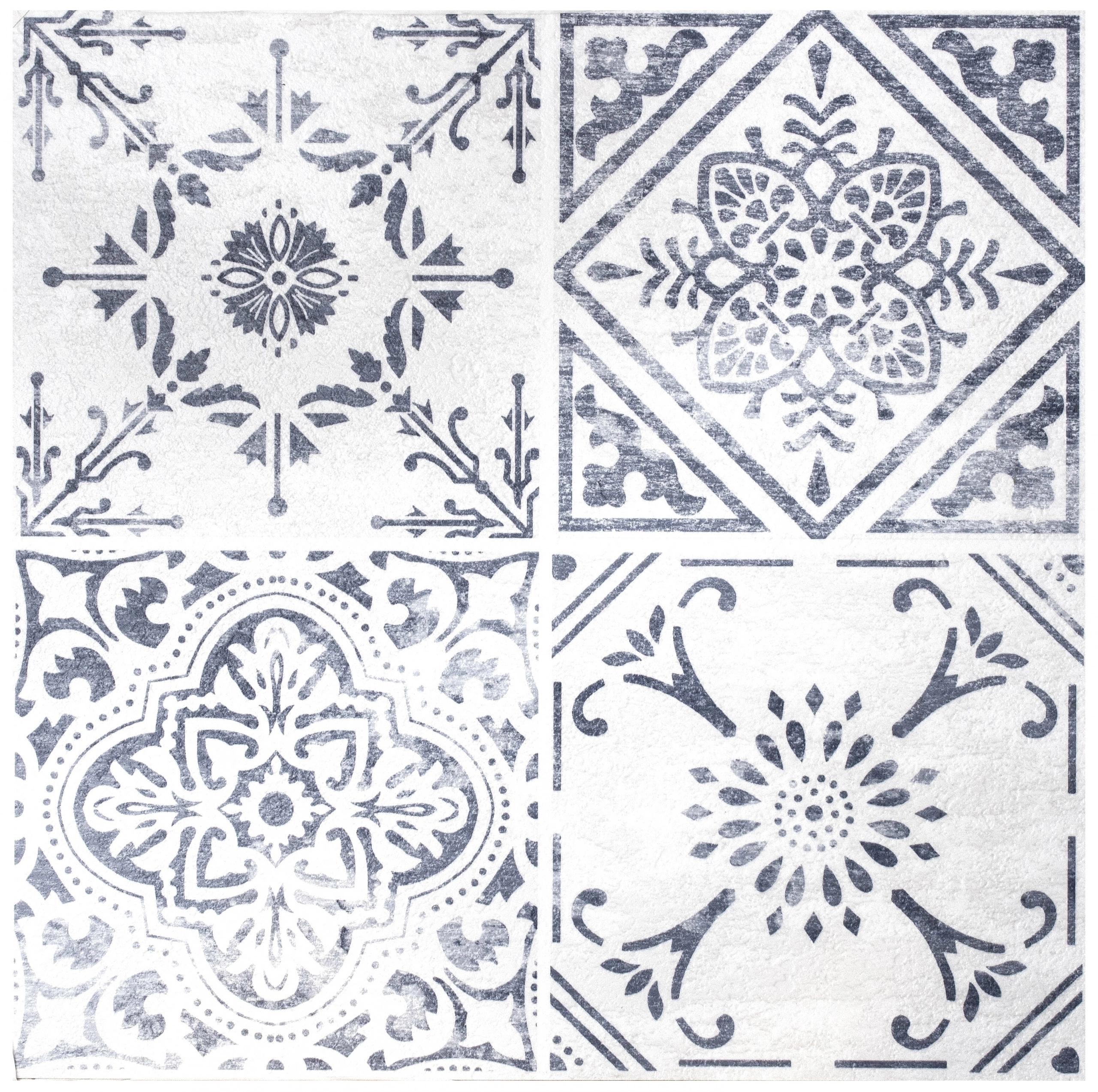 Płytki marokańskie podłogowe samoprzylepne mozaika