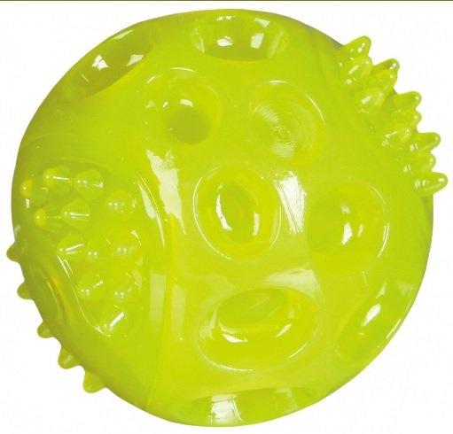 TRIXIE Piłka z gumy termoplastycznej świecąca 6,5cm
