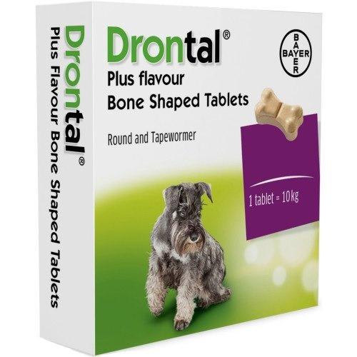 BAYER Drontal FLAVOUR dla psów do 10kg 1szt