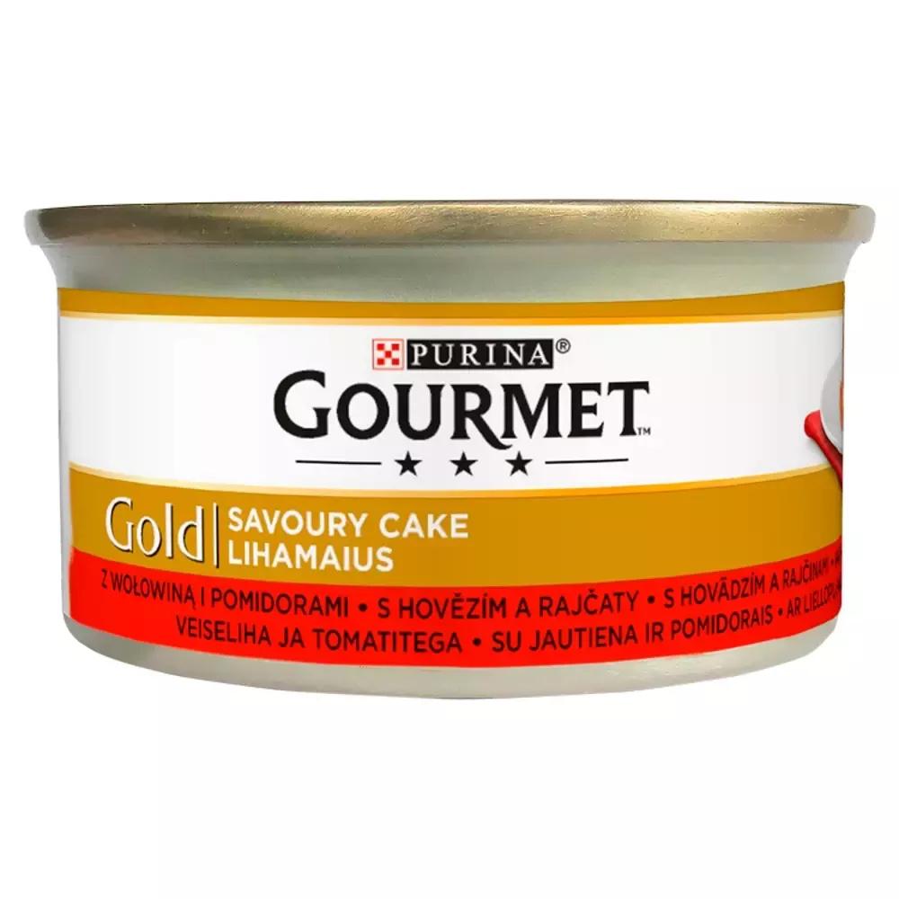 Gourmet Gold Karma kota z wołowiną pomidor 24x85g