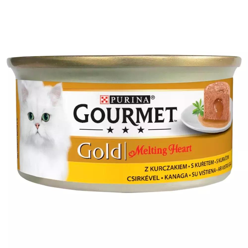 Gourmet Gold Karma dla kotów z kurczakiem  85g
