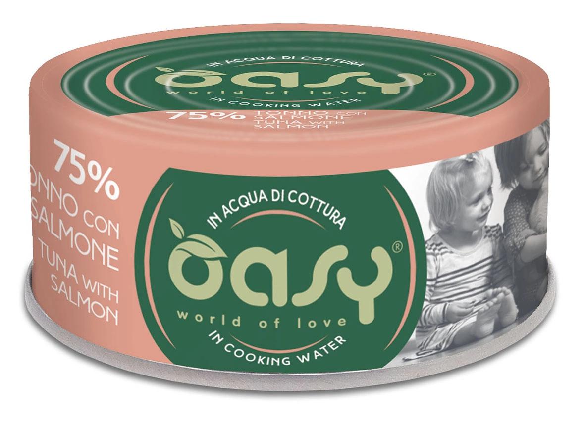 Oasy MORE LOVE tuńczyk z łososiem 70g