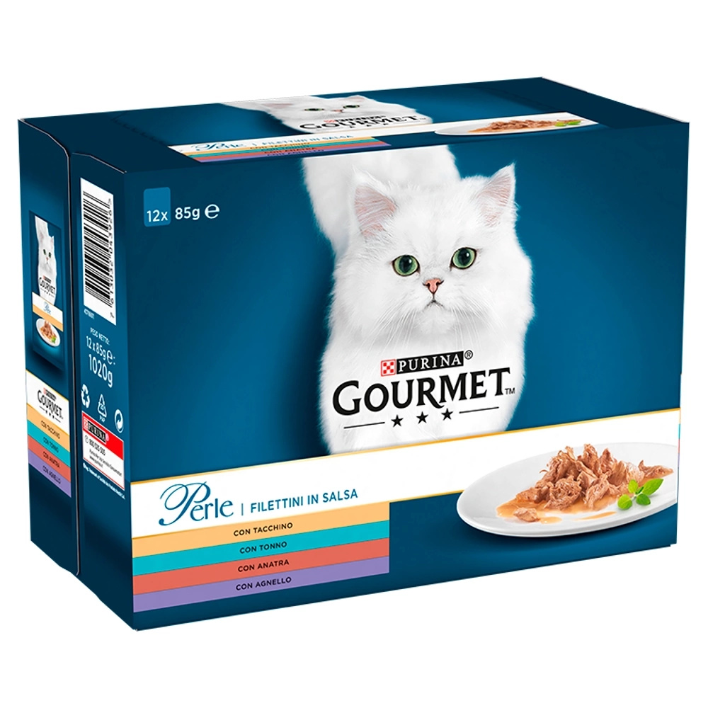 Gourmet Perle Mięsny Duet 12x85g