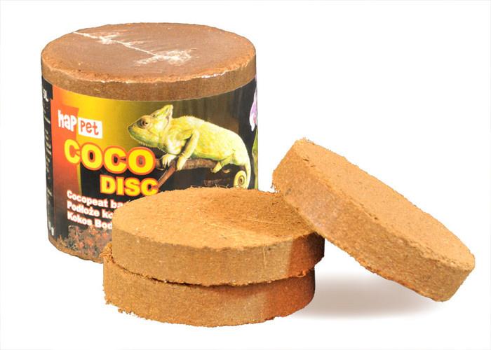 602 KRĄŻKI Torf kokosowy do terrarium 5X110g