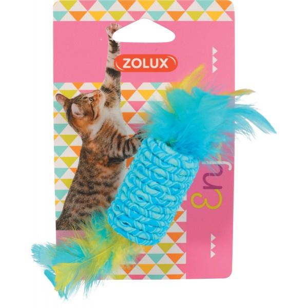 ZOLUX Zabawka dla kota z gumką Cukierek 580712
