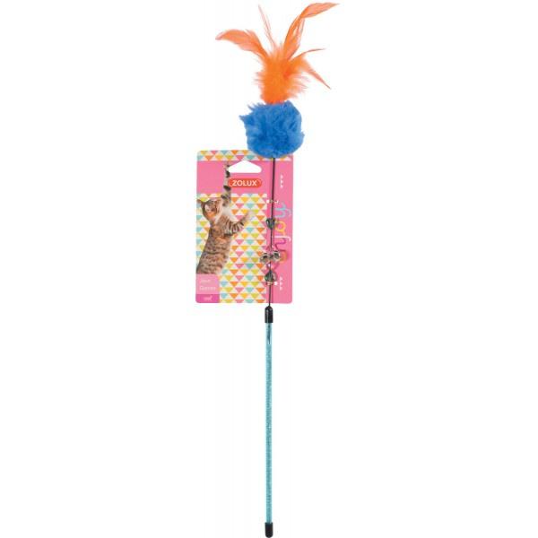 ZOLUX Zabawka dla kota wędka Pompon 580708